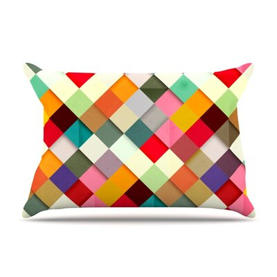 Pass This On by Danny Ivan Featherweight Pillow Sham Size: Queen, Fabric: Woven Polyester