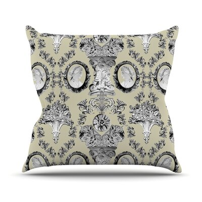 Imperial Palace Throw Pillow Size: 16 H x 16 W x 1 D