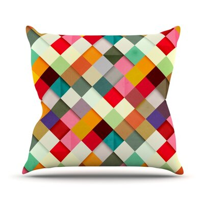 Pass This On Throw Pillow Size: 26 H x 26 W