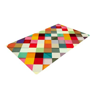 Danny Ivan Pass This on Yellow/Pink Area Rug Rug Size: 4 x 6
