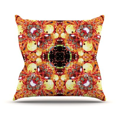 China by Danii Pollehn Throw Pillow Size: 16 H x 16 W x 1 D