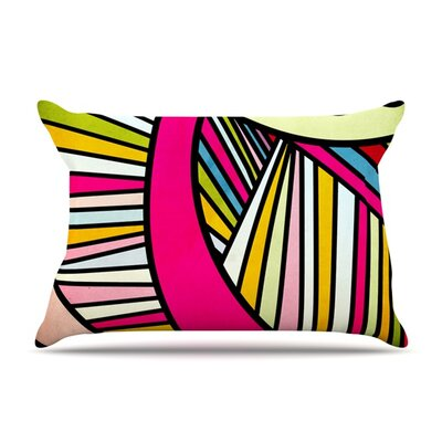 Fake Colors by Danny Ivan Featherweight Pillow Sham Size: King, Fabric: Cotton