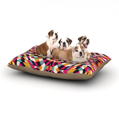 Danny Ivan Rebel Ya Dog Pillow with Fleece Cozy Top Size: Small (40 W x 30 D x 8 H)