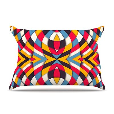 Stained Glass by Danny Ivan Featherweight Pillow Sham Size: King, Fabric: Woven Polyester