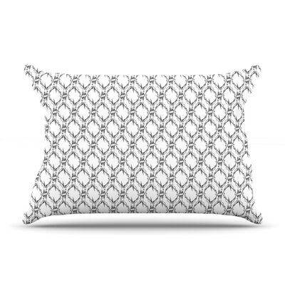 Deer Deer by DLKG Design Featherweight Pillow Sham Size: Queen, Fabric: Woven Polyester
