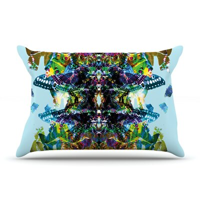 Butterfly by Danii Pollehn Featherweight Pillow Sham Size: Queen, Fabric: Woven Polyester