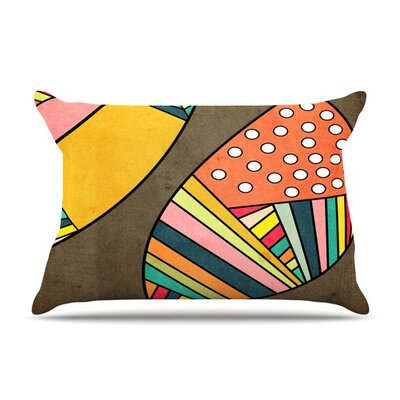 Cosmic Aztec by Danny Ivan Featherweight Pillow Sham Size: Queen, Fabric: Cotton