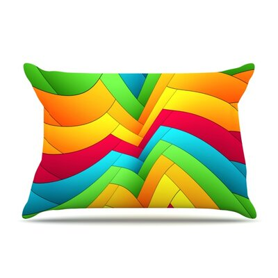 Olympia by Danny Ivan Featherweight Pillow Sham Size: King, Fabric: Woven Polyester