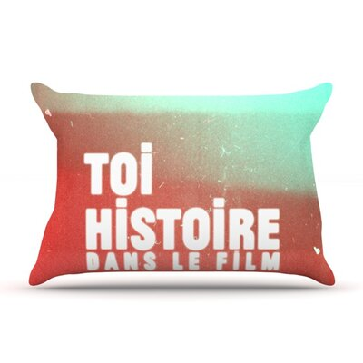 Toi Histoire by Danny Ivan Featherweight Pillow Sham Size: Queen, Fabric: Woven Polyester