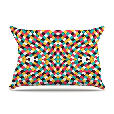 Retro Grade by Danny Ivan Featherweight Pillow Sham Size: King, Fabric: Woven Polyester