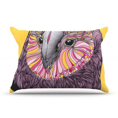Lovely Owl by Danny Ivan Featherweight Pillow Sham Size: King, Fabric: Woven Polyester