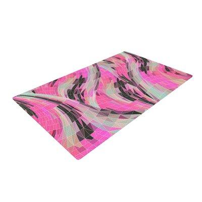 Danny Ivan La Verite Pink Area Rug Rug Size: 2 x 3