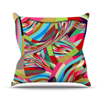 Fun by Danny Ivan Throw Pillow Size: 18 H x 18 W x 1 D
