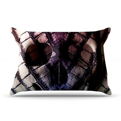 Skull by Danny Ivan Featherweight Pillow Sham Size: King, Fabric: Woven Polyester