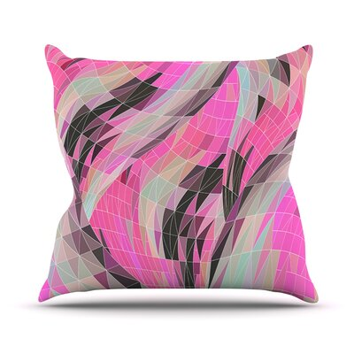 La Verite by Danny Ivan Throw Pillow Size: 16 H x 16 W x 1 D