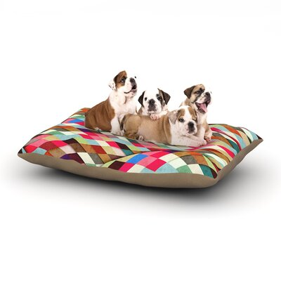 Danny Ivan Adored Art Object Dog Pillow with Fleece Cozy Top Size: Small (40 W x 30 D x 8 H)