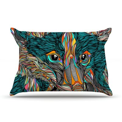 Fox by Danny Ivan Featherweight Pillow Sham Size: Queen, Fabric: Woven Polyester
