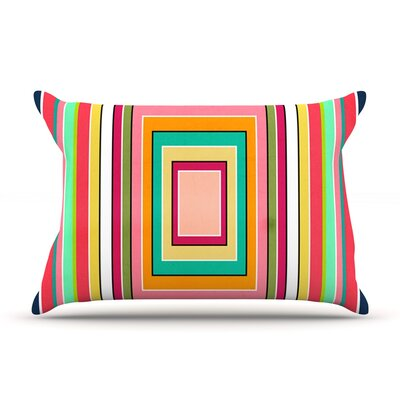 Floor Pattern by Danny Ivan Featherweight Pillow Sham Size: King, Fabric: Woven Polyester