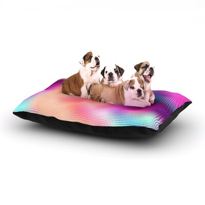 Danny Ivan Bastar Abstract Dog Pillow with Fleece Cozy Top Size: Small (40 W x 30 D x 8 H)