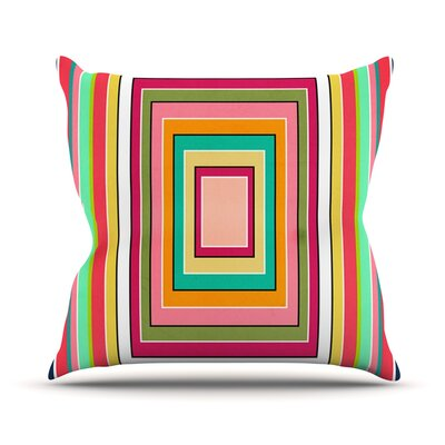 Floor Pattern Throw Pillow Size: 20 H x 20 W x 1 D