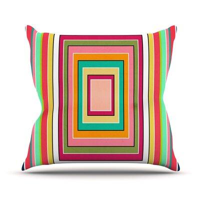 Floor Pattern Throw Pillow Size: 18 H x 18 W x 1 D