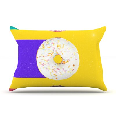Donuts by Danny Ivan Featherweight Pillow Sham Size: Queen, Fabric: Woven Polyester