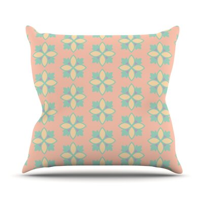 Pattern #1 by Deepti Munshaw Throw Pillow Size: 18 H x 18 W x 1 D