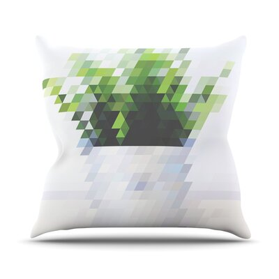 Plant by Danny Ivan Throw Pillow Size: 16 H x 16 W x 1 D