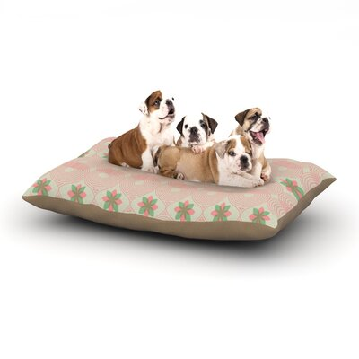 Deepti Munshaw Pattern #3 Dog Pillow with Fleece Cozy Top Size: Large (50 W x 40 D x 8 H)
