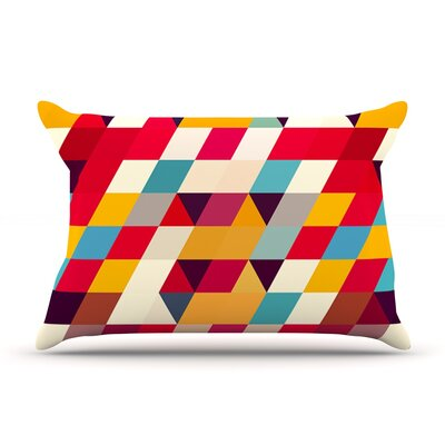 Kyoto by Danny Ivan Featherweight Pillow Sham Size: Queen, Fabric: Woven Polyester