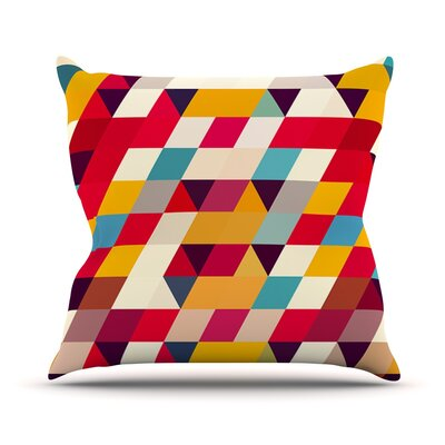 Kyoto by Danny Ivan Throw Pillow Size: 18 H x 18 W x 1 D