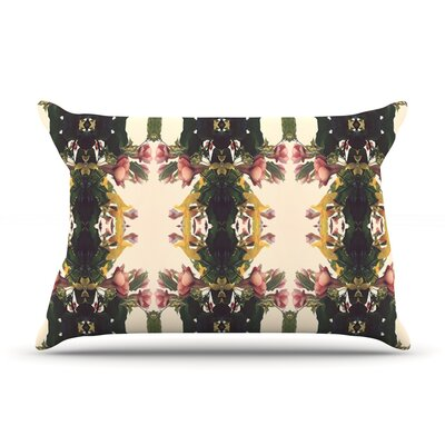 Deepti Munshaw Enchanted Garden Floral Pillow Case