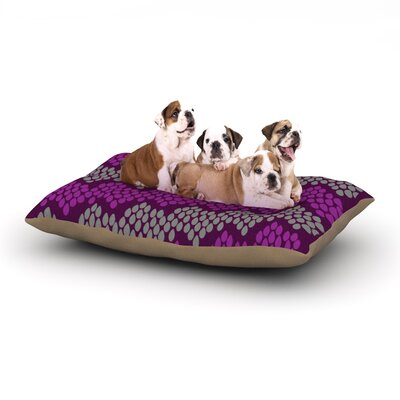 Deepti Munshaw Pattern #2 Chevron Dog Pillow with Fleece Cozy Top Size: Small (40 W x 30 D x 8 H)