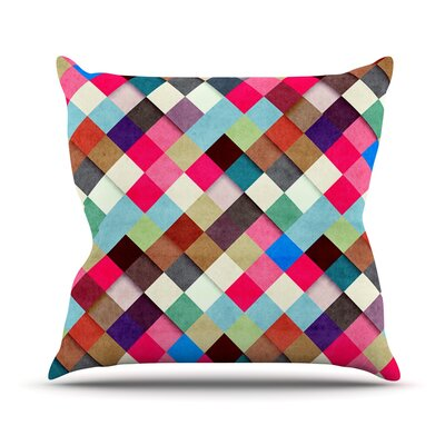 Ubrik by Danny Ivan Throw Pillow Size: 26 H x 26 W x 1 D