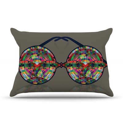 iMagine by Deepti Munshaw Featherweight Pillow Sham Size: King, Fabric: Woven Polyester