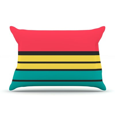 Simple by Danny Ivan Featherweight Pillow Sham Size: Queen, Fabric: Woven Polyester