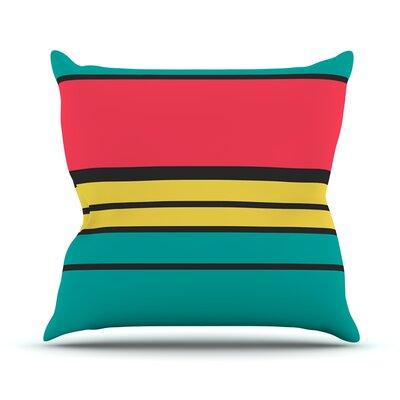 Simple by Danny Ivan Throw Pillow Size: 20 H x 20 W x 1 D