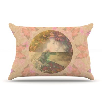 Deepti Munshaw Rebirth Butterfly Circle Pillow Case