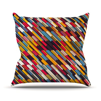 Texturize by Danny Ivan Throw Pillow Size: 18 H x 18 W x 1 D