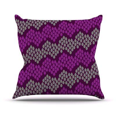 Pattern #2 by Deepti Munshaw Chevron Throw Pillow Size: 26 H x 26 W x 1 D