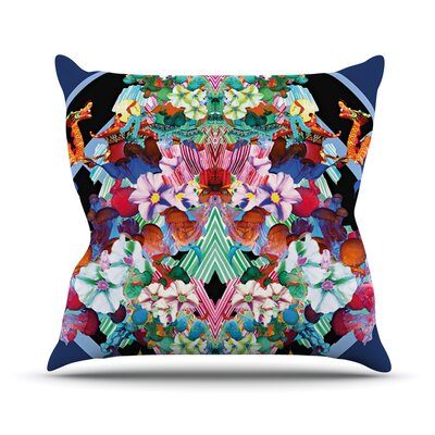 Herz by Danii Pollehn Floral Throw Pillow Size: 26 H x 26 W x 1 D