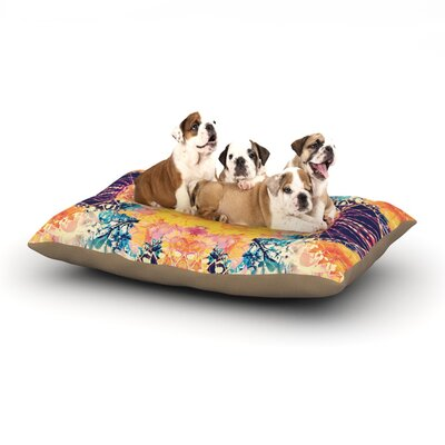 Danii Pollehn Unbenannt Dog Pillow with Fleece Cozy Top Size: Small (40 W x 30 D x 8 H)