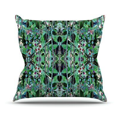 Grun by Danii Pollehn Abstract Throw Pillow Size: 20 H x 20 W x 1 D
