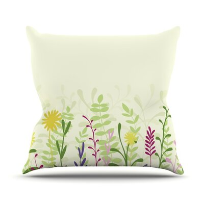 Springtime Throw Pillow Size: 20 H x 20 W x 1 D