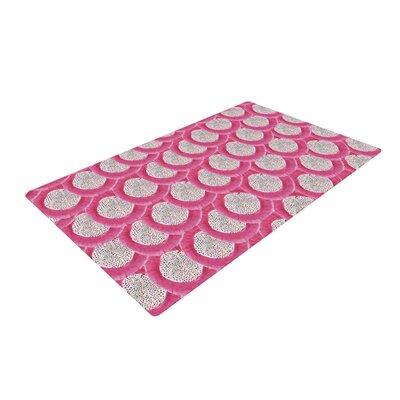 Akwaflorell Oho Boho Pink Area Rug Rug Size: 2' x 3'