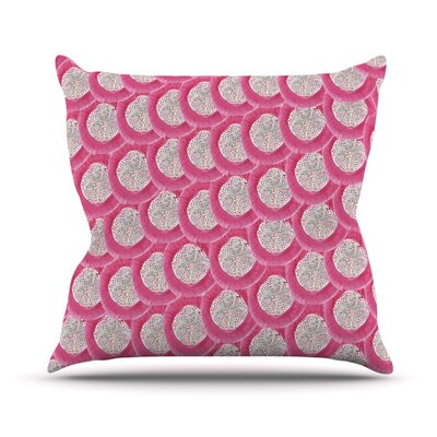 Oho Boho Throw Pillow Size: 26 H x 26 W