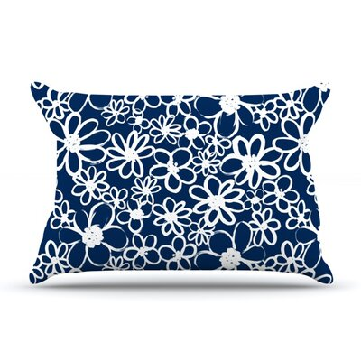 Daisy Lane by Emine Ortega Featherweight Pillow Sham Size: King, Fabric: Woven Polyester
