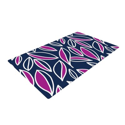 Emine Ortega Leaving Blue/Pink Area Rug Rug Size: 4 x 6