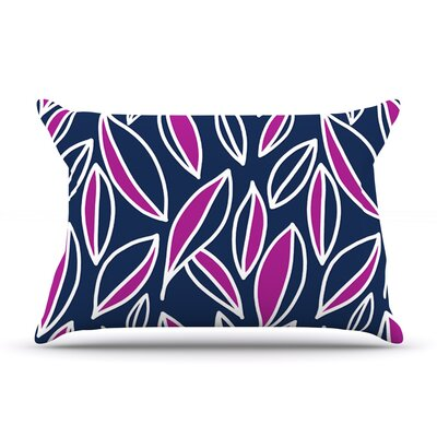 Emine Ortega Leaving Pillow Case Color: Magenta