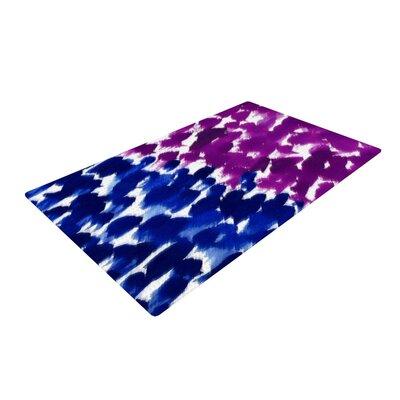 Emine Ortega Fleeting Blue/Pink Area Rug Rug Size: 2 x 3